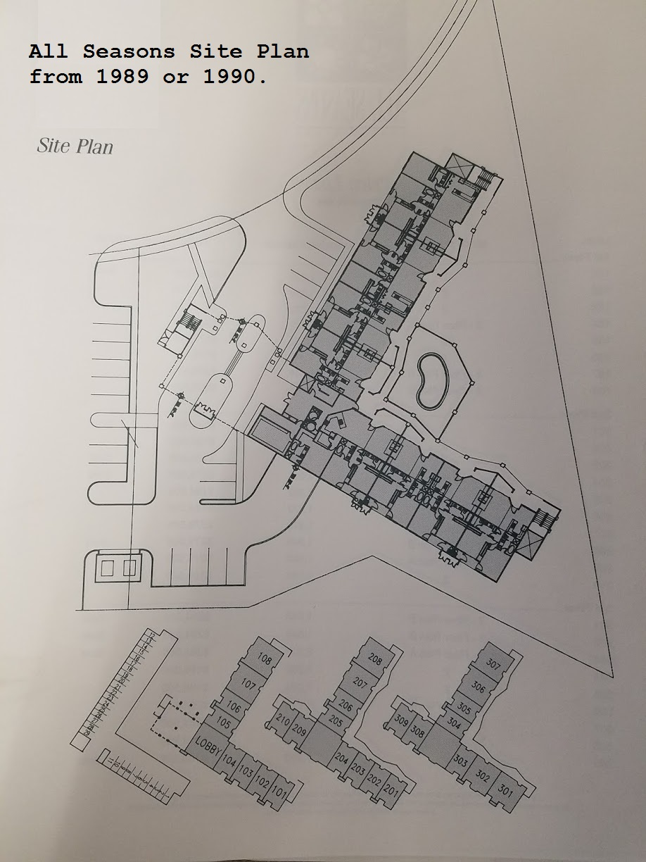 All Seasons Condominiums Site Plan