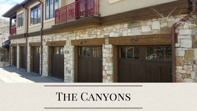 The Canyons Park City Homes and Condos for Sale