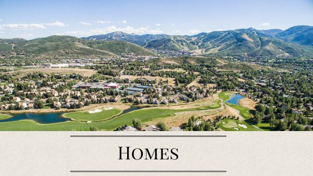 Search Park City Homes for Sale