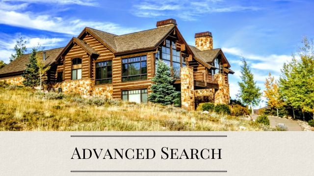 Park City Advanced MLS Property Search