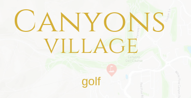 Canyons Village Park City Golf Real Estate
