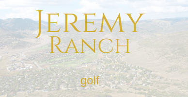 Jeremy Ranch Golf Real Estate