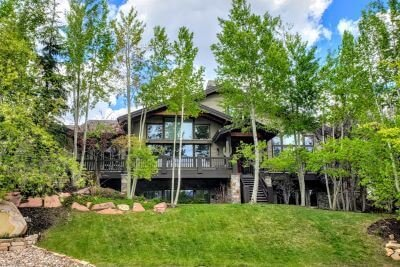 Park City Homes in Summer