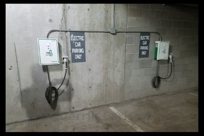 Charger for Electric Car at SER
