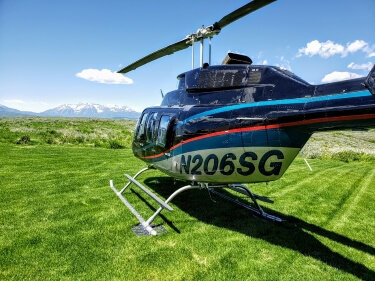 Wolf Creek Ranch Helicopter