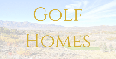Golf Homes in Park City, Utah