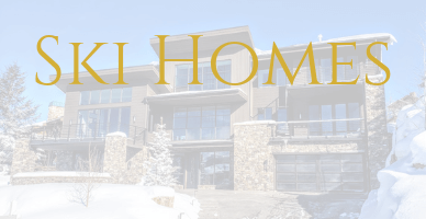 Ski Homes in Park City, Utah